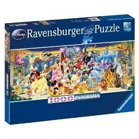 Disney Panoramic 1000 Piece Jigsaw Puzzle