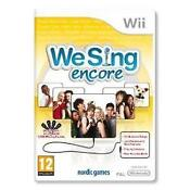 Wii We Sing Encore