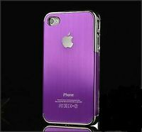 iPhone 4 brushed metal cover