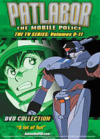 DVD - Patlabor - The Mobile Police: The TV Series Vol 9-11