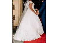 Berketex double hoop wedding dress underskirt white