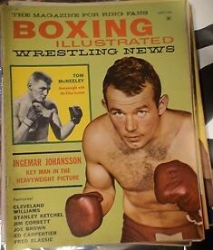 BOXING MAGAZINE. RING MAGS ETC.1950'S TO 80'S Belleville Belleville Area image 6