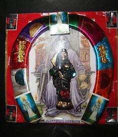 HERRADURA-SANTA-MUERTE-holy-death-PROTECCION-Y-BUENA-SUERTE-free-shipping