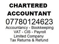 Accountancy - Tax Advisory - Bookkeeping - CIS - Payroll Services