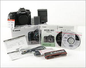 Canon numerique 40D (boitier seulement)