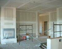 Affordable Drywall Installation and Repairs