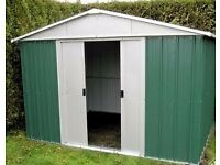Metal Garden Shed/Storage 10ft X 8ft - LOCAL FREE DELIVERY