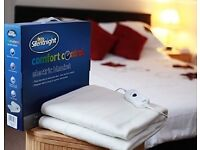 Silent Night Comfort Control Electric Blanket Single - Brand New!