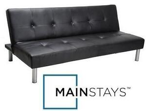 NEW* MAINSTAYS FAUX LEATHER FUTON 100879462