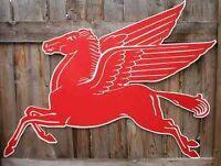 Mobil Oil Pegasus / Good Year Sign Large Signs