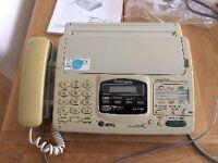 National Panasonic Phone Ansaphone Fax Working order