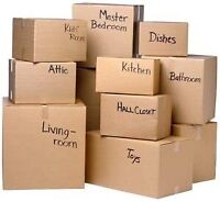 WANTED: Helper to pack and clean