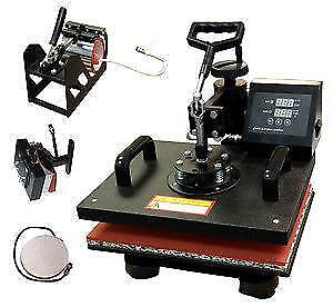 New 4-in-1 Multifunction Heat Press 15x12 tshirt press,mug,hat