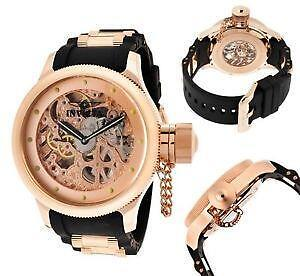 mens skeleton watch invicta men s skeleton watch
