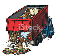 Garbage Removal, 1 ton truckload!!