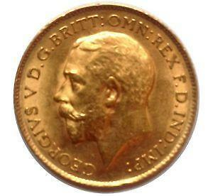 King George Gold Coin Ebay