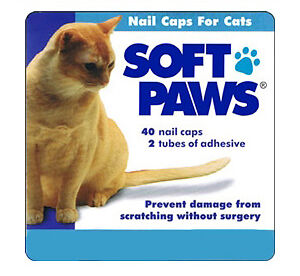 Soft Paws nailcaps for cats. 6 month supply