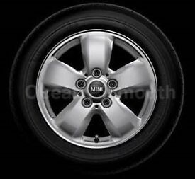 """Four Brand New Mini 15"""" Heli Alloy Wheels and Tyres - OFFER ENDS Friday 10/3/2017"""