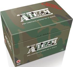 THE A-TEAM the ultimate complete series 1 - 5 box set. 27 discs. New DVD.