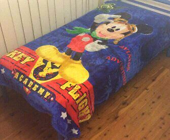 BRAND NEW CHILDREN'S KING SINGLE MICKEY MOUSE BLANKET Modbury Tea Tree Gully Area Preview