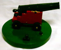 Wooden Cannon with Balls, Homemade Replica, Asking just $5.00