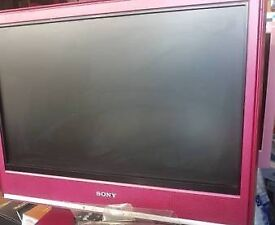 "20"" purple colour sony bravia LCD tv"