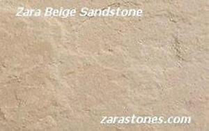 Beige Square Cut Paving Stone Beige Sandstone Flagstone Pavers