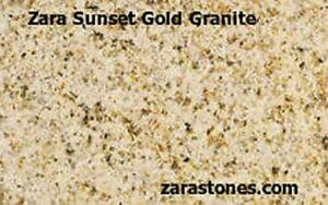 Amber Square Cut Paving Stone Granite Flagstone Pavers