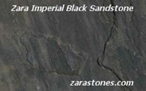 Imperial Black Square Cut Paving Stone Sandstone Flagstone Paver