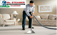 $90 3 Rooms+Hall  Carpet Cleaning TruckMounted by Mr Steamer