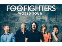 Foo Fighters tickets - Manchester - front row