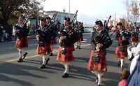 CASTLE CARY PIPES AND DRUMS  (highland bagpipes)