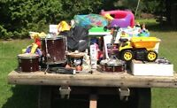 multi-family garage sale - minutes from Greely/findley creek