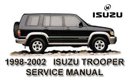 2001 isuzu trooper repair manual