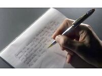 PSYCHIC HANDWRITING ANALYSES - discover your full potential, your dreams and aspirations.