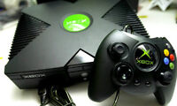 ORIGNAL M0DD3D XBOX SYSTEM WITH 9 GAMES AND MORE ON HARD DRIVE