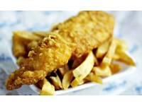 Fried chicken & fish & chips.