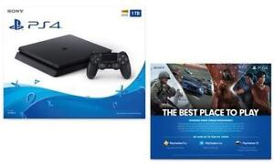 Sony PS4 1 TB - Brand New Sealed w/Manufacturer's Warranty @ 340$ Cash Only - Buy from a Store w/Confidence & SaveALot