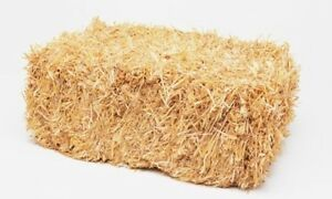 Bales of Hay (tied & bagged) - Christmas Nativity Decor Farm etc