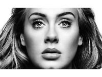 Adele tickets seated 29th June 2017