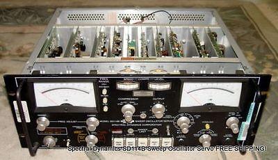 Spectral Dynamics Sd114b Sweep Oscillator Servo Free Shipping
