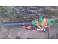 black and decker leaf blower /vacuum