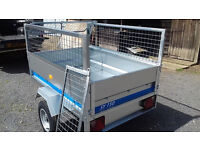 New Maypole SY150 1500mm x 1050mm General Purpose Trailer with 400mm Mesh Sides and Cover