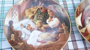 Knowles Fairy Tale Collector Plates by artist Scott Gustafston Stratford Kitchener Area image 1