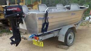 Aluminium Boat and Motor Bonshaw Inverell Area Preview
