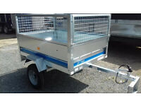 New Maypole 6815 General Purpose Small Trailer with Mesh Extension Kit
