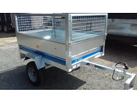 New Maypole SY150 1500mm x 1050mm General Purpose Trailer with 400mm Mesh Sides