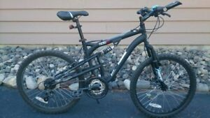 Youth full suspension bike