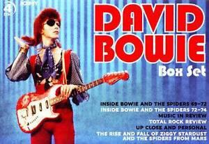 DAVID BOWIE 4 disc DVD BOXSET Marrickville Marrickville Area Preview