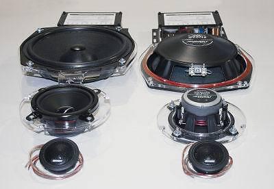 "BMW 1er F20 F21 ;  3 way car speaker system ""MADE IN GERMANY"" car stereo speaker"